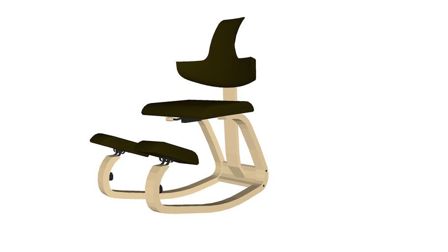 Stokke Thatsit Bureaustoel.Thatsit Design Chair By Stokke Varier 3d Warehouse