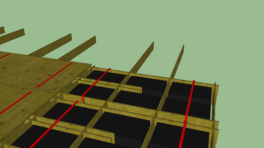 Scalable floating platform