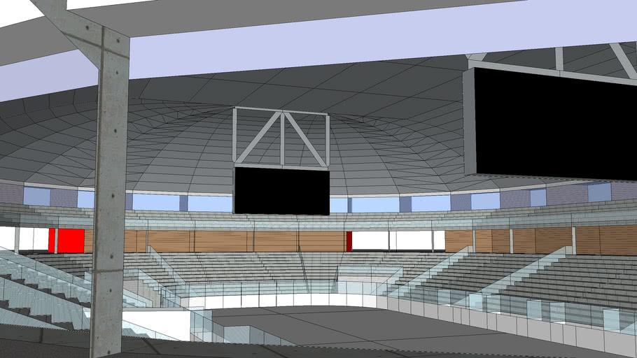 Ice hockey stadium By Arend