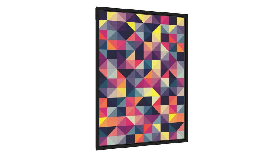 Quadro Composição colorida VIII - Galeria9, por Vitor Costa
