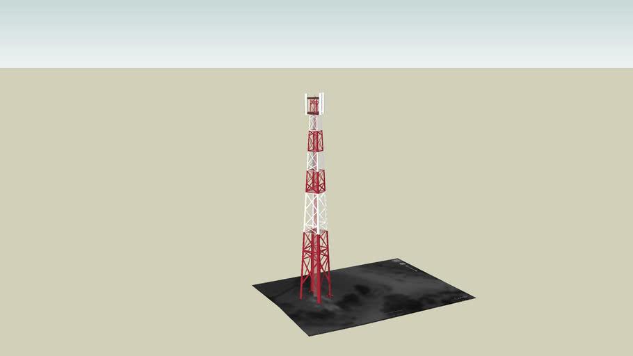 Salaspils commerce transmit tower