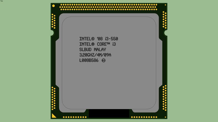 Intel® Core™ i3-550 (SLBUD)