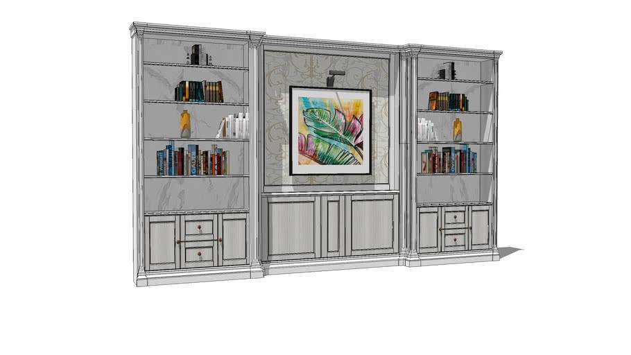 K's Built-in Bookcase