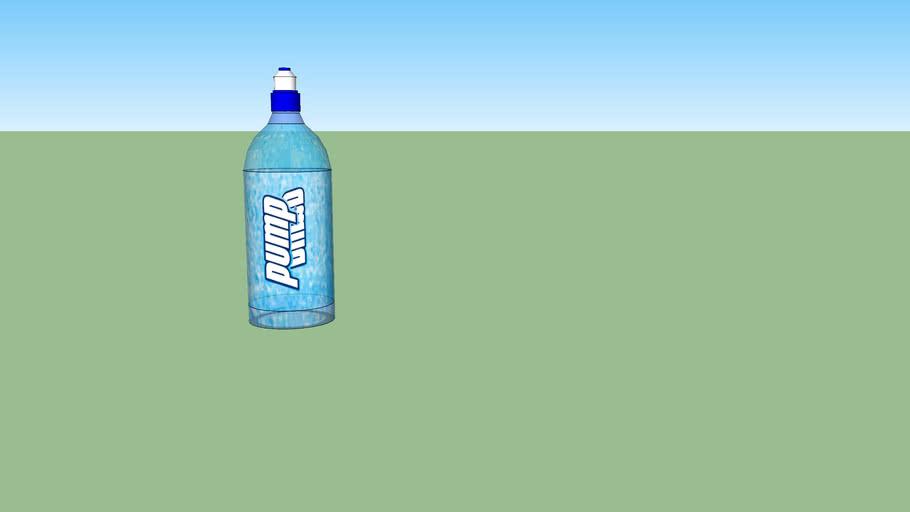 Pump Mineral Water Bottle
