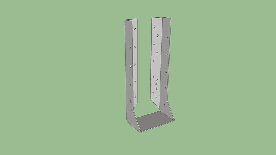 HUC41211 Concealed Flange Joist Hanger (Low Polygon)