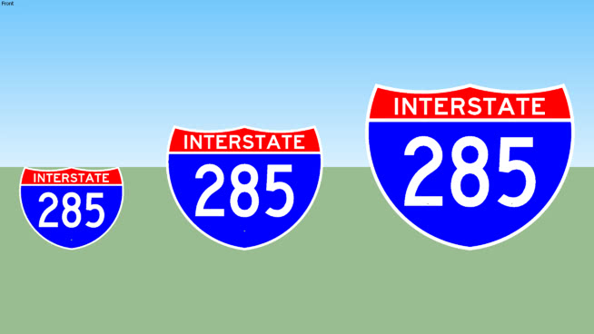 Interstate 285 Sign