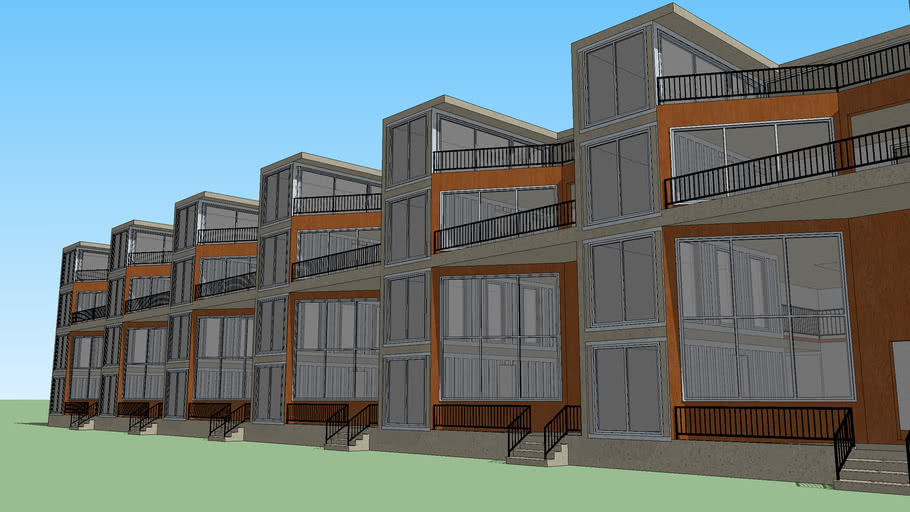 Northern Liberty Row House Project (w/o context)