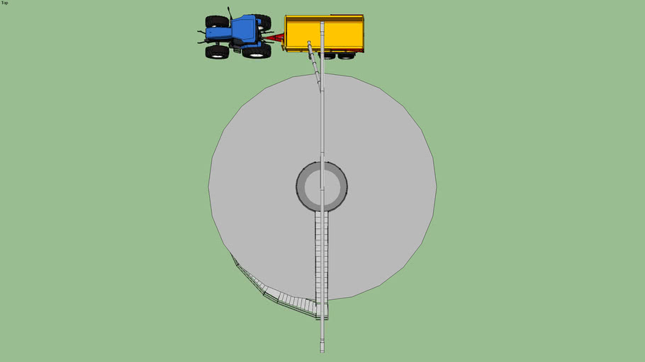 Grain Pump med silo