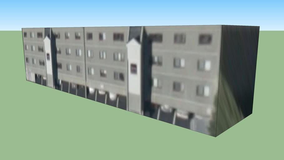 波士顿, 麻萨诸塞州, 美国的建筑模型