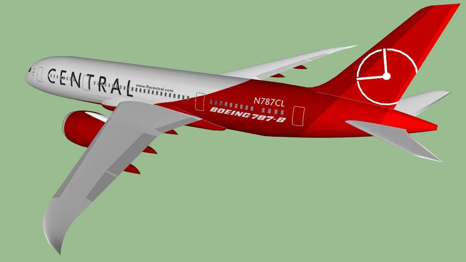 Central Air Lines (2012 [FICTIONAL]) - Boeing 787-839 Dreamliner - NextGen III (NEW) Livery