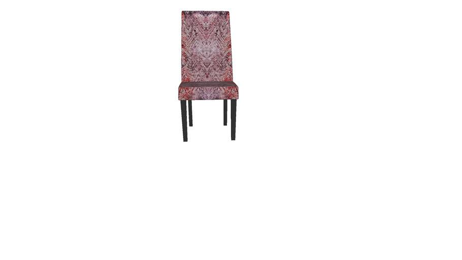 84444 Chair Econo Slim Fancy Red