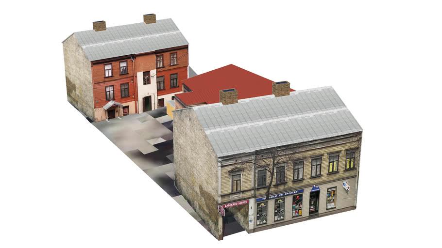 Riga, Cesu street 41 (korp. 1, korp. 2)