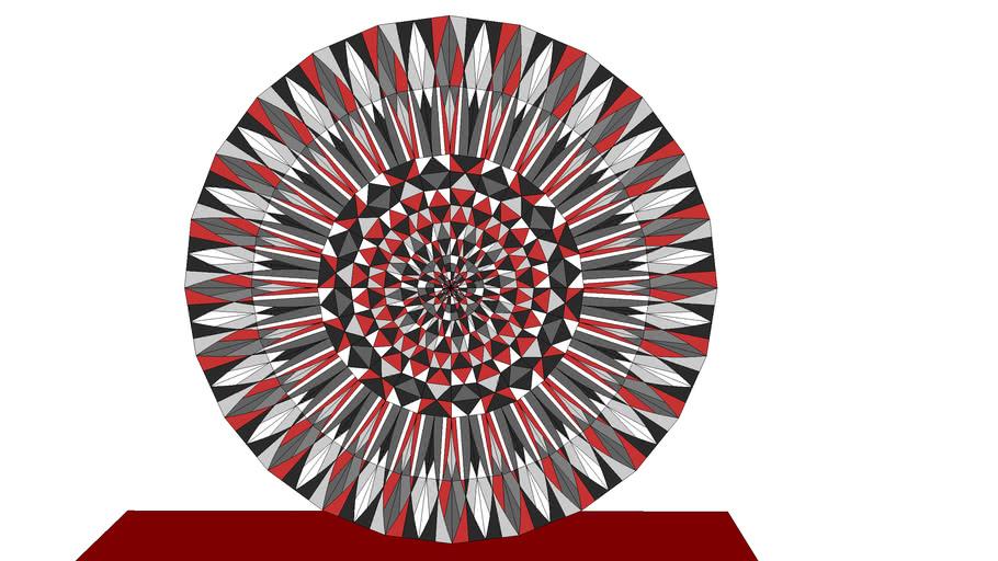 Musterblatt-Kreis