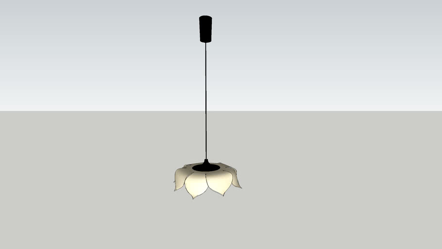 XL55_華蓋吊燈_Lotus Pendant