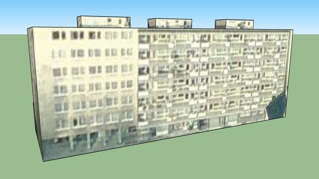 Edificio en Evere, Bélgica