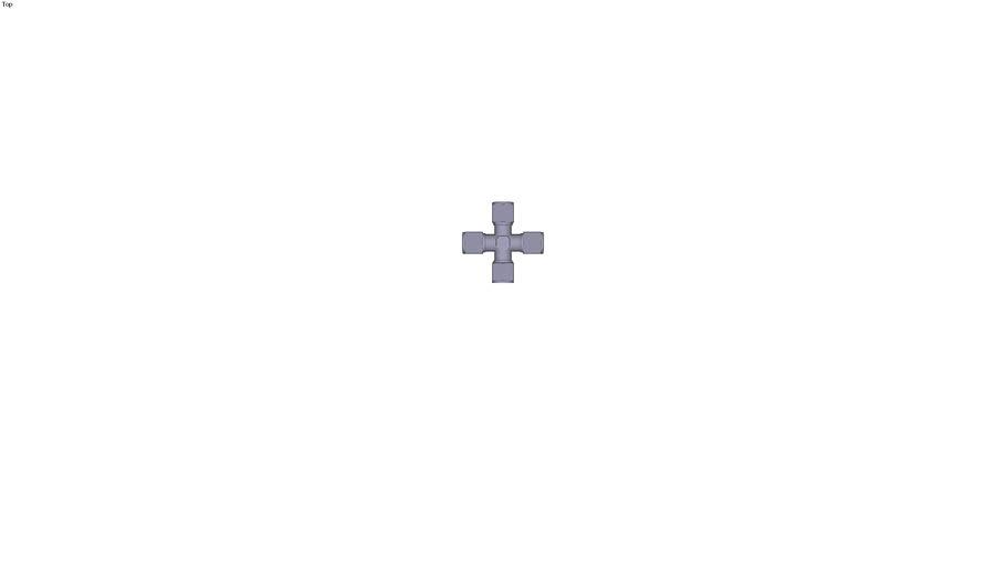 XEG - Croix égale T = 4 mm