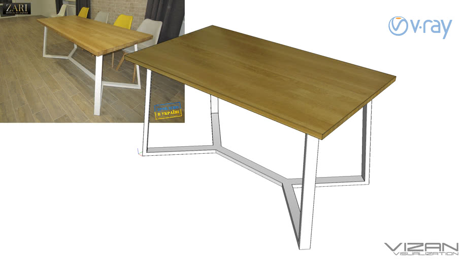 Стол Zari ZR565