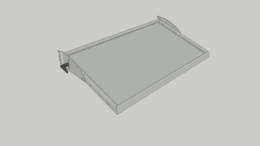 SSG Adjustable Shelf A S090x500 ESD Complete   Item No. 200212-52