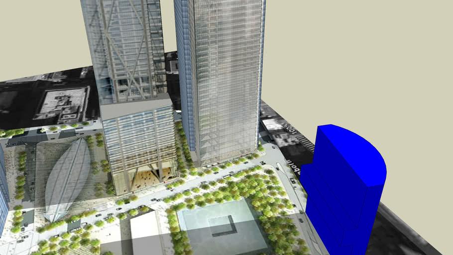 New World Trade Center Complex  in 2012/2013