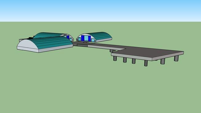 A380 making room in GuangXi WuZhou