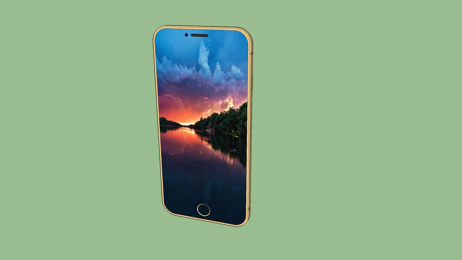 IPhone 7 Gold (Concept 5)