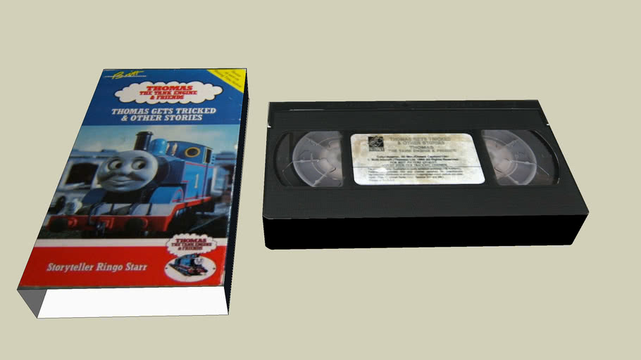 1990 Thomas Gets Tricked and Other Stories VHS (Strand VCI)