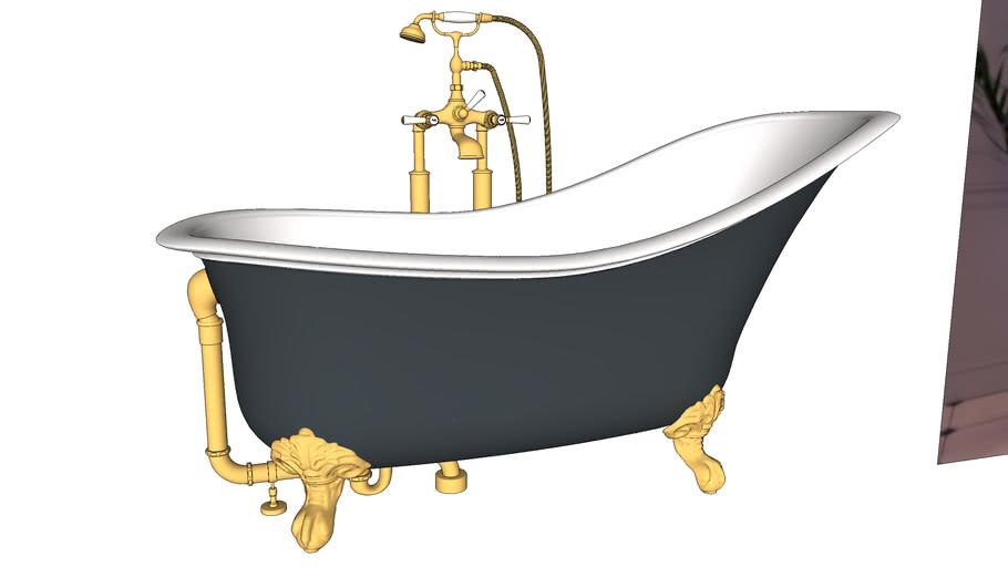 Classic Freestanding Clawfoot Bathtub