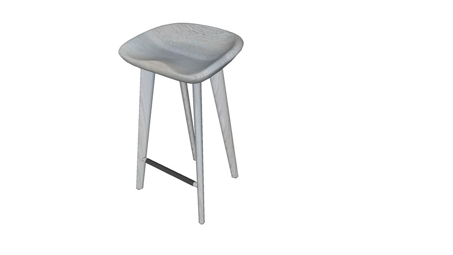 CB-22 Tractor Counter Stool Ash