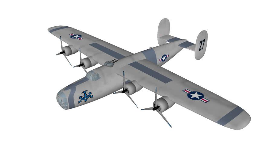 avion bombardier Consolidated B-24 Liberator