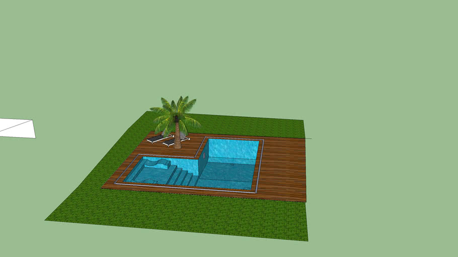 piscine 8x4 par bounty