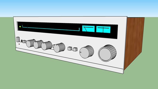 Vintage Hi-Fi receiver