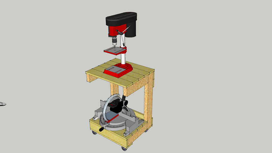 Drill Press & Mitre Saw Table