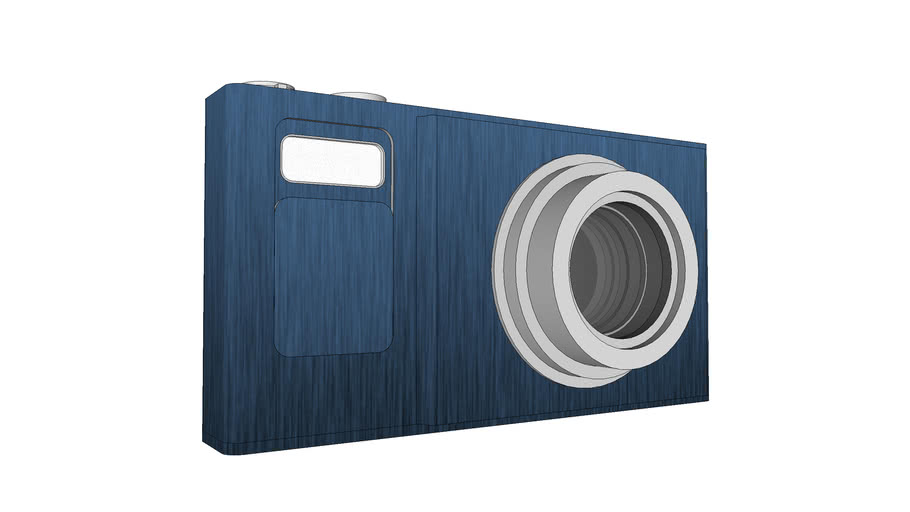 Pro Digital Camera (Blue Ocean)