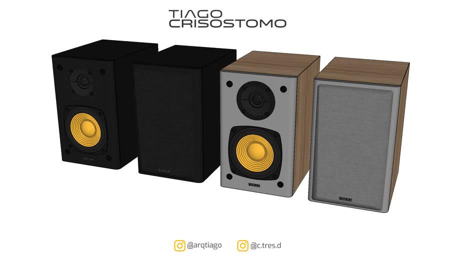 Monitor de Áudio R1000T4 Bivolt 24W - EDIFIER