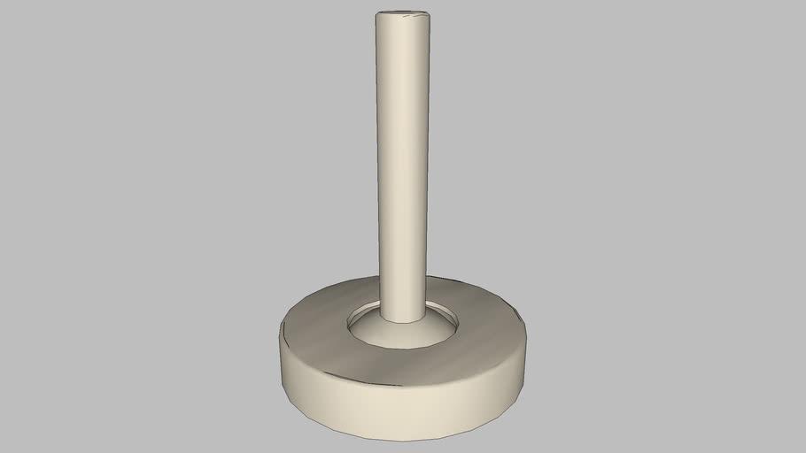 DOCOL - Acionamento monocomando Conexões Espontâneas níquel jateado 010001AC