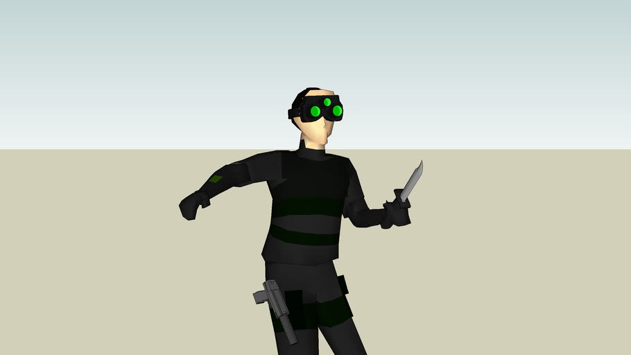Most realistic splinter cell up to date