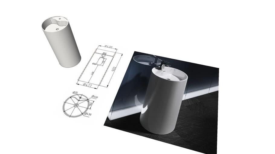 EGO-35 freestanding washbasin