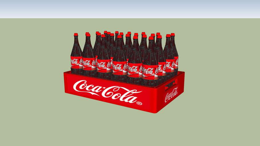 engradado refrigerante coca cola 200ml