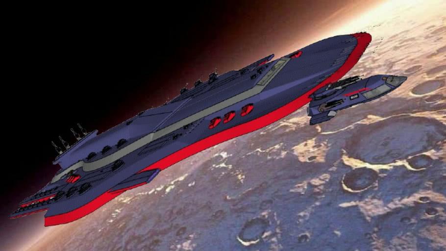 XB442-Cuirassier - Space battleship classe