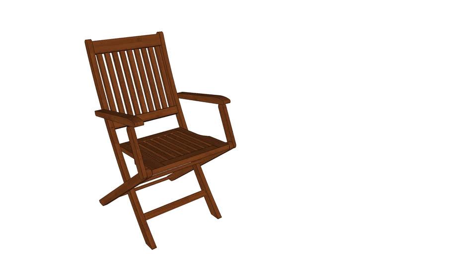 Cadeira Dobrável com braço Ipanema
