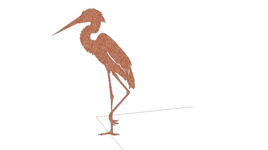 Heron | Czapla | Garden sculpture | Oregano Studio