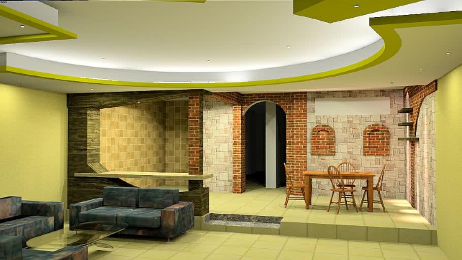 interior design & rendered