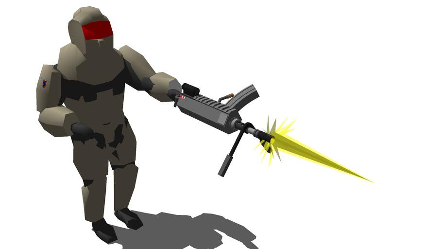 BFM Heavy Assault Soldier
