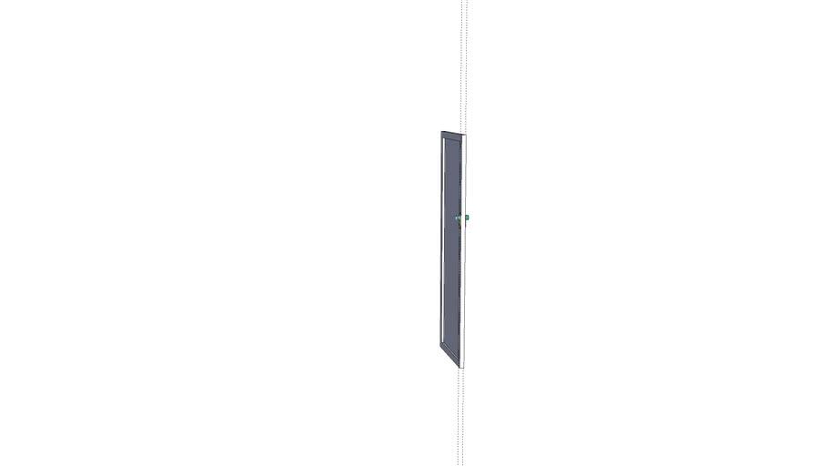 Laurelise Glass Door 2 Handle