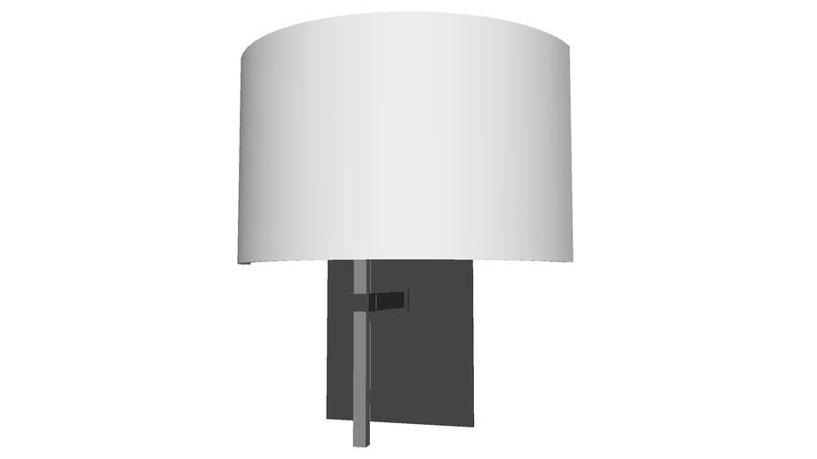 Modern Glass Wall Lamp - Detailed