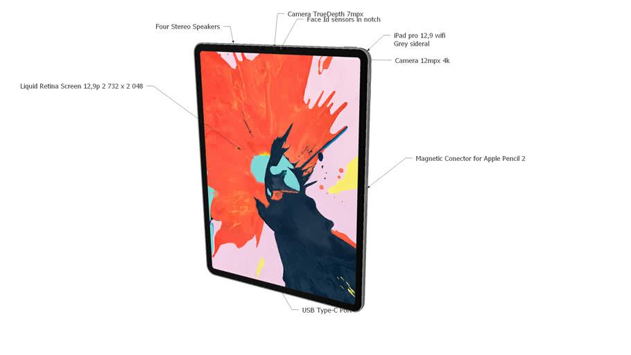 iPad Pro Wifi 12,9 2018