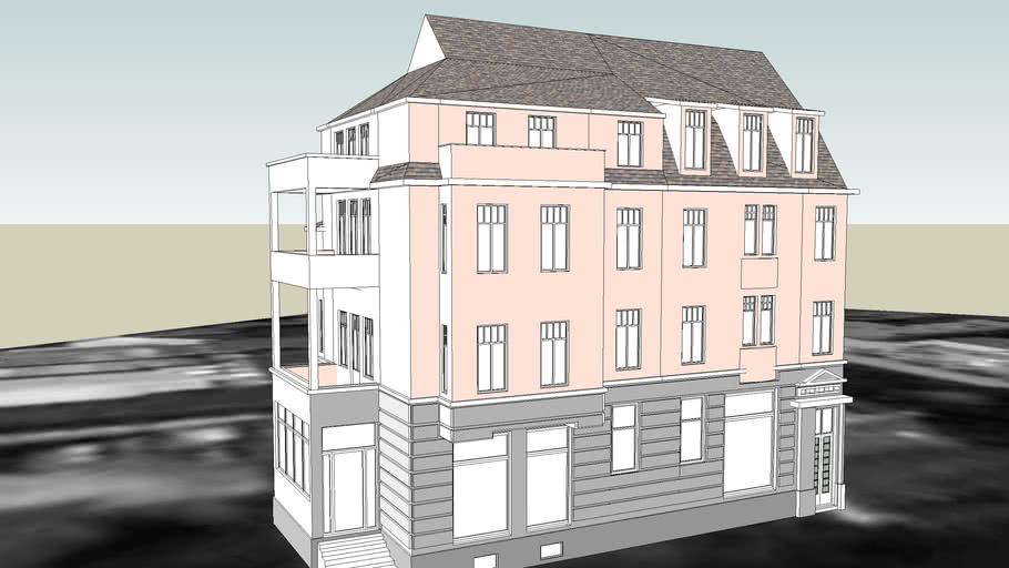 TENEMENT HOUSE ON 2 KRASINSKIEGO STREET IN BYDGOSZCZ