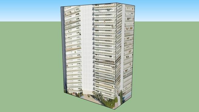 Edifício da Miami Beach, Florida, EUA