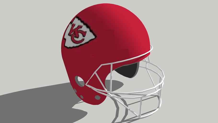 Kansas City Chiefs Football Helmet