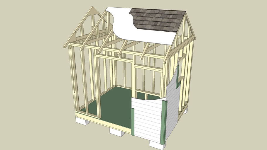 Garden & Tool Shed